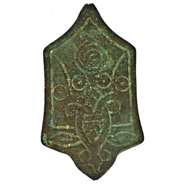 Credential badge of princes Yaroslav Volodymyrovych and Sudyslav Volodymyrovych 1