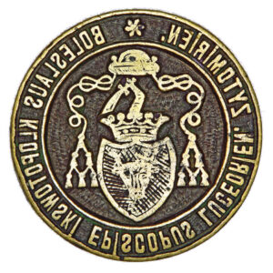 Seal of Boleslav Iieronim Klopotovsky, bishop of Lutsk and Zhytomyr