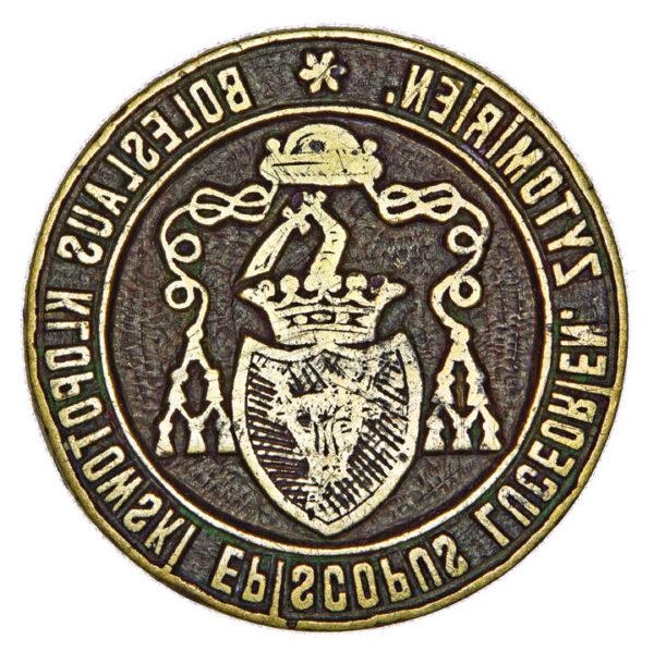 Seal of Boleslav Iieronim Klopotovsky, bishop of Lutsk and Zhytomyr