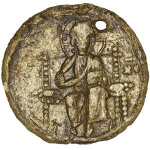 Seal of Byzantine emperor Alexios Komnenos (1081–1118) 1