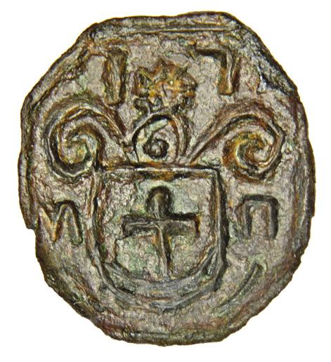 Seal of Hryhorii Matviiovych Hladky, colonel of Myrhorod