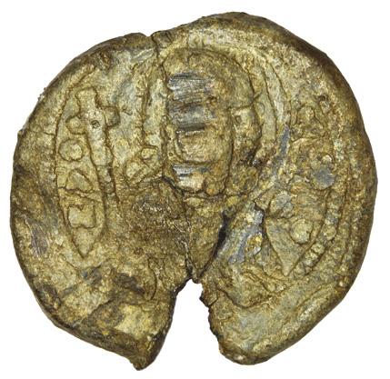 Seal of Maria Monomachina, wife of Vsevolod Yaroslavych 1