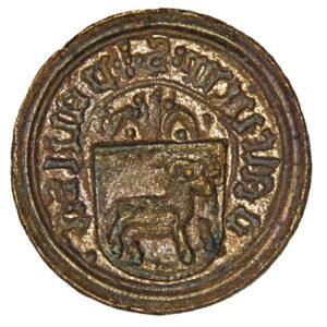 Seal of Paweł Koła, nobleman of Daliow and Zhovtantsi 1