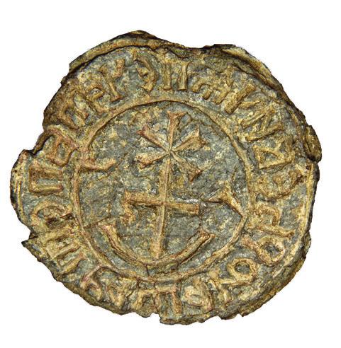 Seal of boyar Petrash Fedorovych Yurievych 1