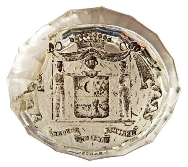 Seal of count Platon Zubov 1