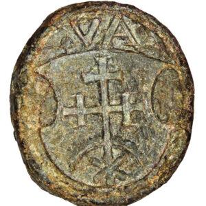 Seal of duke Andrii Ivanovych Vyshnevetsky 1