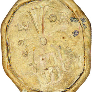 Seal of nobleman Adam Olizarovych Volchkovych 1
