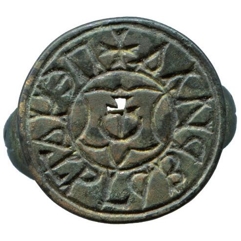 Seal of nobleman Havrylo Zbrokhovych Hulevych Voiutynsky 1
