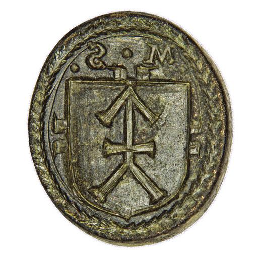 Seal of nobleman Mykhailo Shymkovych Sklensky 1