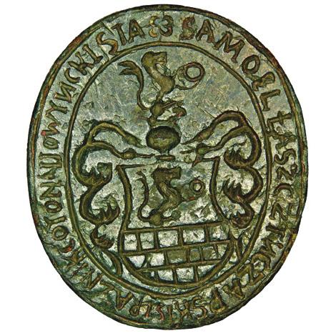 Seal of nobleman Samuel Łaszcz Tuczapski 1