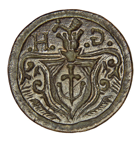Seal of nobleman Yurii Demianovych Hulevych 1