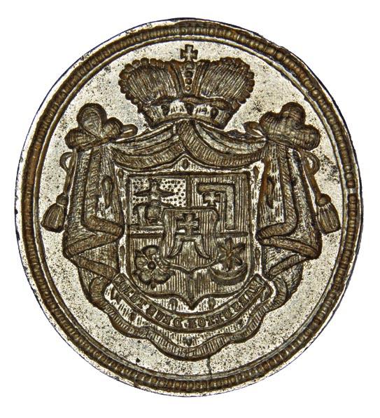 Seal of prince Adolf Stanislav Bozhenets Yelovytsky 1