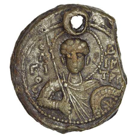 Seal of prince Iziaslav Yaroslavych 1