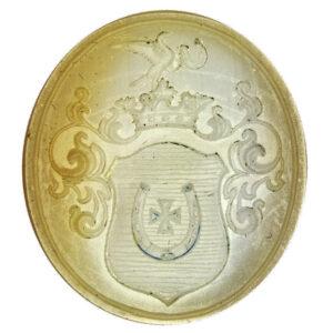 Seal showing the Jastrzębiec coat of arms 1