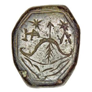 Signet-ring of Cossack nobleman Yakov Lysenko 1