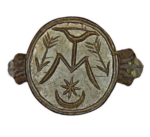 Signet-ring of a Rus boyar 1