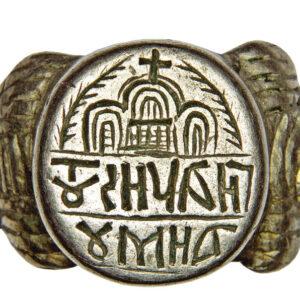 Signet-ring of a hegoumenos (Orthodox abbot) 1