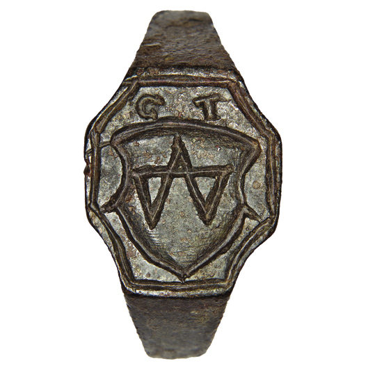 Signet-ring of nobleman Hryhorii Dolmat 1
