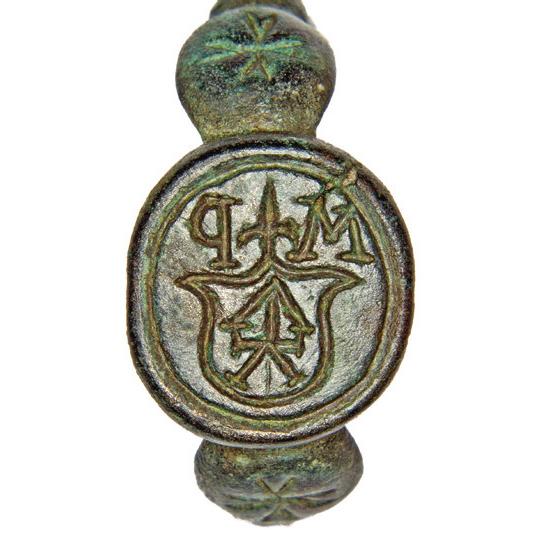 Signet-ring of zemianyn Martyn Pryborsky 1